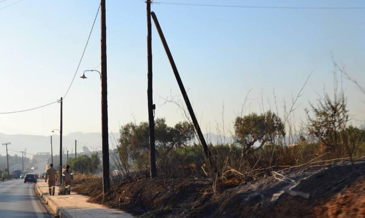Μεγάλη καταστροφή στη Νεάπολη από την πυρκαγιά