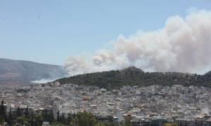 Ποινική δίωξη σε βάρος των δύο συλληφθέντων για τη φωτιά στον Βύρωνα