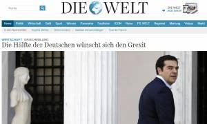 Welt am Sonntag: Κακή η συμφωνία με την Ελλάδα για το ήμισυ των Γερμανών