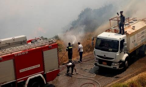 Πυρκαγιές: Αναζωπύρωση στη Νεάπολη