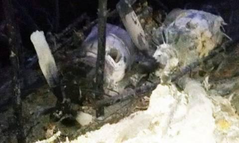 Φωτιά Λακωνία: Καταστράφηκε ολοσχερώς το καναντέρ – Δείτε φωτογραφίες