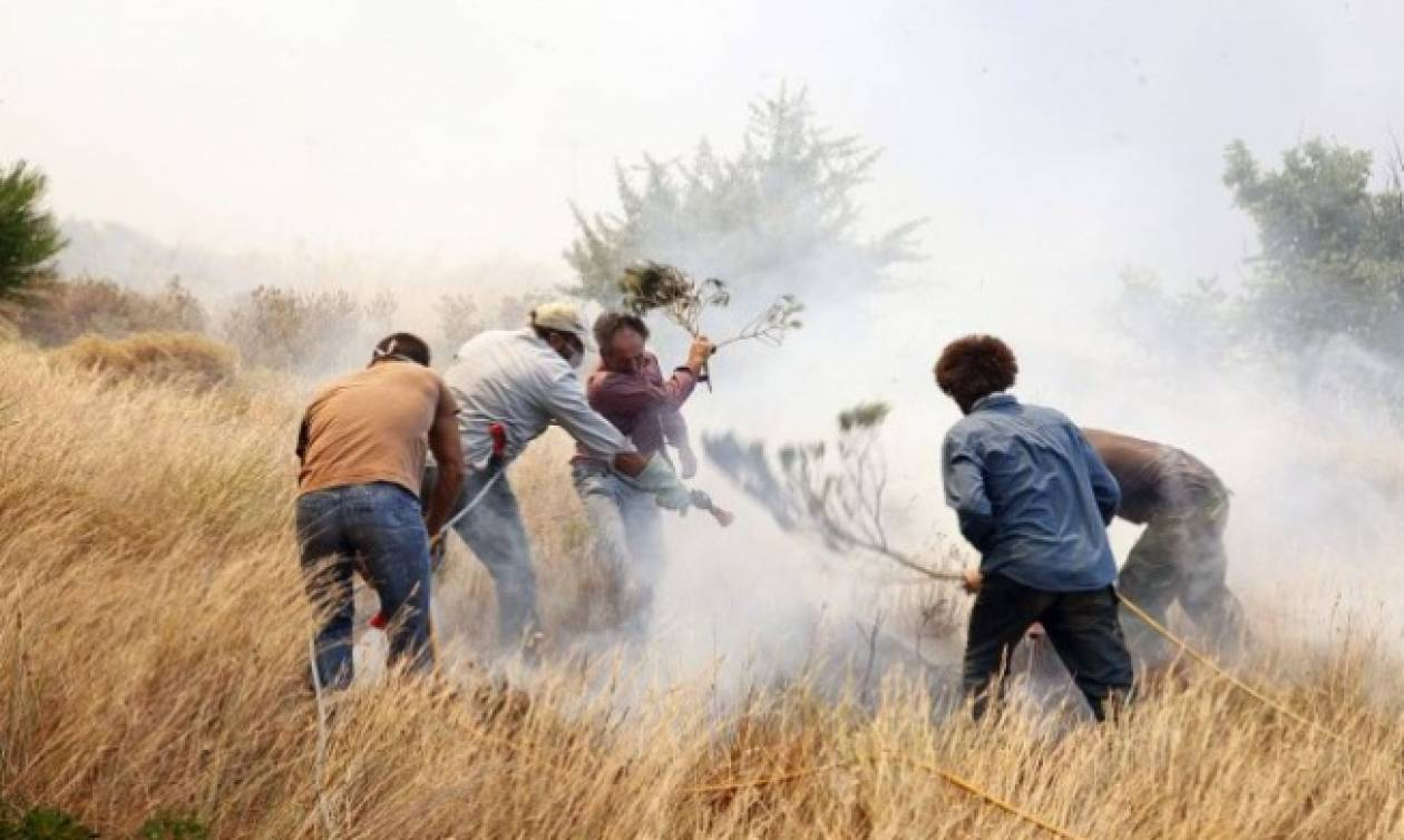 Υπό μερικό έλεγχο οι φωτιές στην Πελοπόννησο - Σε ύφεση στην Αιτωλοακαρνανία