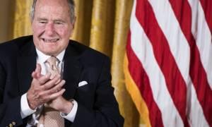 Βγήκε από το νοσοκομείο ο Τζορτζ Μπους ο πρεσβύτερος