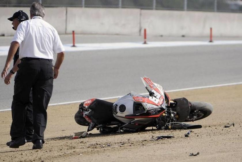 MotoAmerica: Το δυστύχημα έγινε  λίγες στιγμές μετά την εκκίνηση του αγώνα