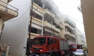 Φωτιά σε διαμέρισμα στο Παγκράτι