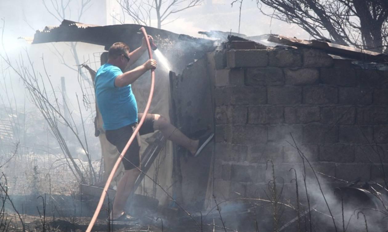 Πυρκαγιά - Αργολίδα: Υπό έλεγχο τα μέτωπα σε Ασίνη και Λευκάκια (photos)