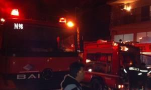 Στις φλόγες ισόγειο διαμέρισμα στο Παγκράτι