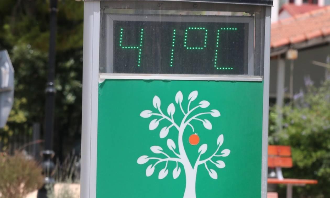 Ο καιρός της Τρίτης: Καύσωνας σε όλη τη χώρα με τη θερμοκρασία να πλησιάζει τους 41 βαθμούς! (pics)