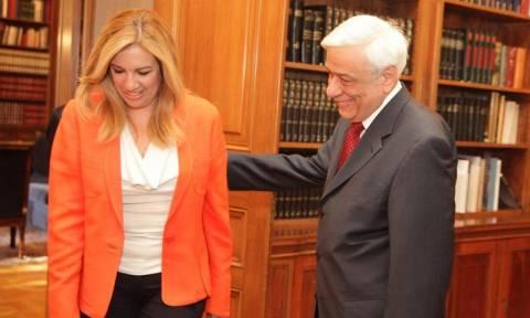 Παυλόπουλος σε Γεννηματά: «Τα πράγματα είναι καλύτερα  δεν αποφύγαμε τους κινδύνους»