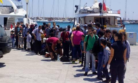 Σητεία: Στο νοσοκομείο 17 από τους 217 μετανάστες που είχαν εντοπιστεί σε ακυβέρνητη λέμβο