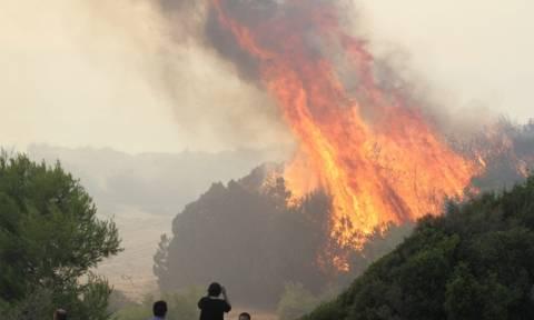 Σε πλήρη έλεγχο τέθηκε η πυρκαγιά στη Σαμοθράκη bd89c435276