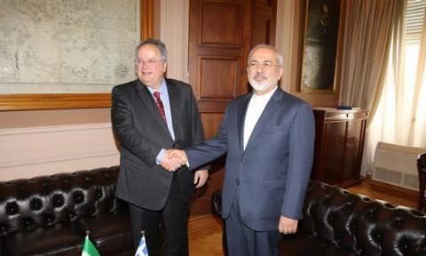 Τηλεφωνική επικοινωνία Κοτζιά – Ζαρίφ για τη σύσφιξη των διμερών σχέσεων Ελλάδας - Ιράν