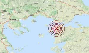 Σεισμός 4,7 Ρίχτερ νοτιοανατολικά της Σαμοθράκης (pic)