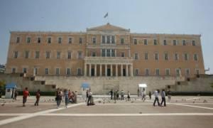 Εκδήλωση για την αποκατάσταση της Δημοκρατίας στον προαύλιο χώρο της Βουλής