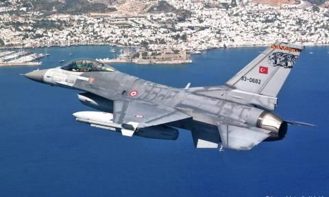 Οπλισμένα τουρκικά μαχητικά παραβίασαν το FIR Αθηνών
