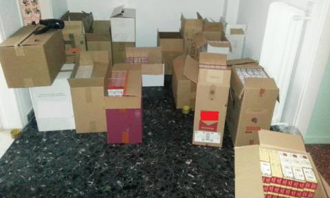 Συνελήφθησαν τρεις για λαθραία τσιγάρα - Είχαν στην κατοχή τους περισσότερα από 9.700 πακέτα