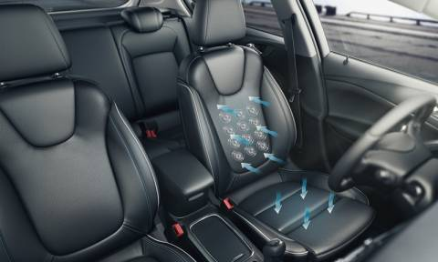 Opel: Ευεξία με τα Καθίσματα Υψηλών Προδιαγραφών του Νέου Astra