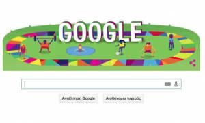 Παγκόσμιοι Αγώνες Special Olympics: Αφιερωμένο στους Αγώνες το σημερινό doodle της Google (video)