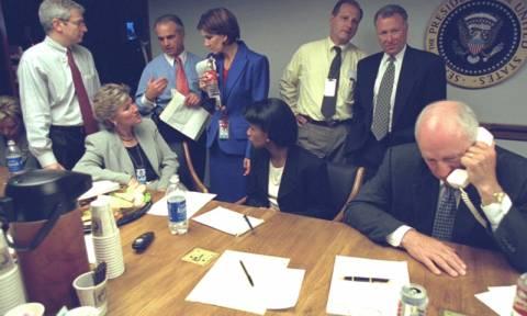 Στο φως εικόνες από τον Λευκό Οίκο μετά την επίθεση της 11ης Σεπτεμβρίου (pics)