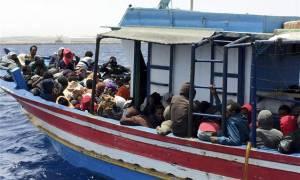 Στη διάσωση 1.300 μεταναστών προέβησαν οι ιταλικές αρχές
