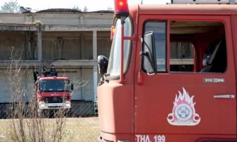 Πάτρα: Εργοστάσιο τυλίχτηκε στις φλόγες