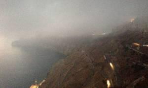 Τήνος: Σε αβαθή έξω από το λιμάνι προσάραξε το FLYING CAT 4 λόγω ομίχλης (pics)