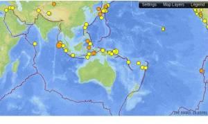 Ινδονησία: Σεισμός μεγέθους 6 βαθμών ανοικτά της Ιάβας