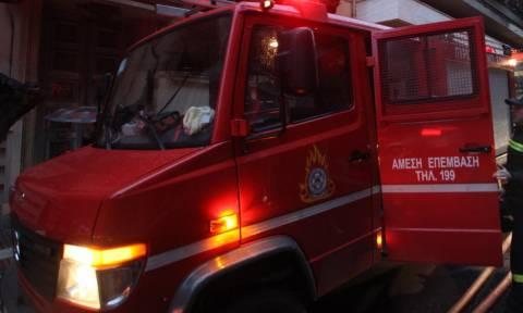 Φωτιά σε αντιπροσωπεία αυτοκινήτων στην Γλυφάδα