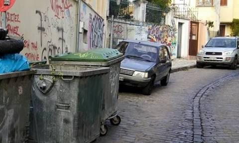 Ξάνθη: Τώρα πετούν… και οχήματα στον κάδο απορριμμάτων (photo)