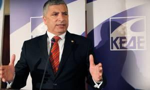 Ρύθμιση για εξαίρεση εργοληπτών ζητά ο πρόεδρος της ΚΕΔΕ