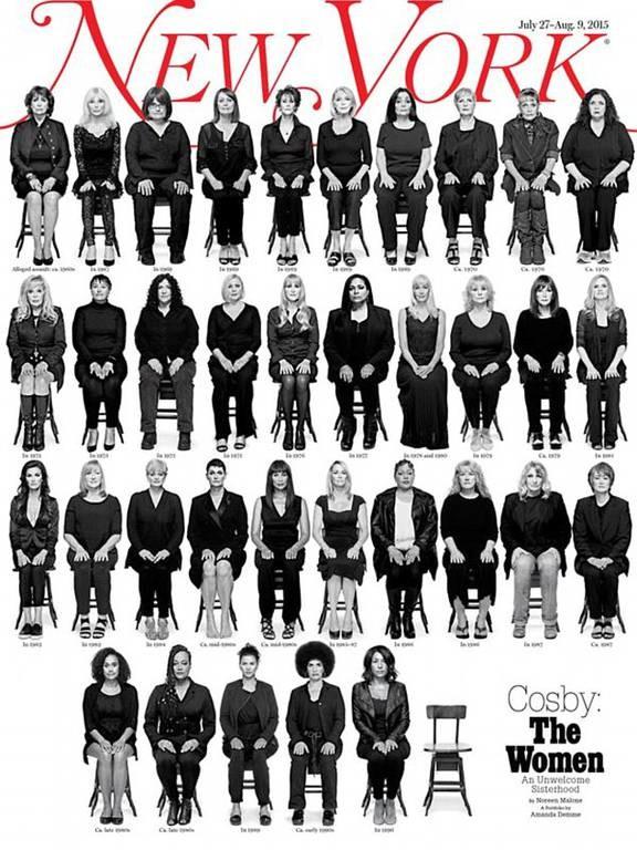 ΗΠΑ: Στο εξώφυλλο του περιοδικού New York τα πρόσωπα των φερόμενων θυμάτων του Μπιλ Κόσμπι (pic)