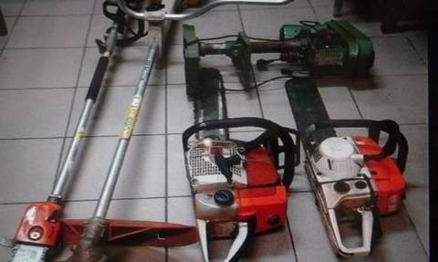 Άρτα: Εξιχνιάστηκαν κλοπές γεωργικών μηχανημάτων και εργαλείων