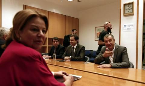 Με την Λούκα Κατσέλη συναντήθηκε ο Σταύρος Θεοδωράκης