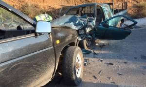Σοβαρό τροχαίο ατύχημα στα Χανιά με δυο τραυματίες