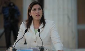 Κωνσταντοπούλου: Θα μελετηθούν οι συνέπειες της λιτότητας στα ανθρώπινα δικαιώματα