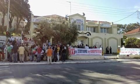 Στάση εργασίας στο Δήμο Θερμαϊκού σε ένδειξη διαμαρτυρίας για την ιδιωτικοποίηση της καθαριότητας