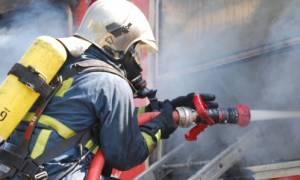 Συναγερμός στην Πυροσβεστική: Φωτιά στα διόδια των Αφιδνών