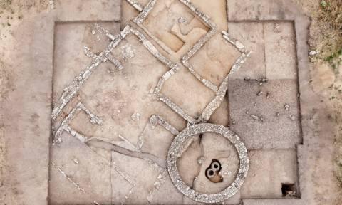 Στο φως οικία των κλασσικών χρόνων στην ανασκαφή της Ροδόπης