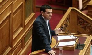 Ο Α. Τσίπρας στη  Βουλή για το σχέδιο Βαρουφάκη