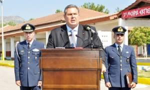 Καμμένος: Δεν πρόκειται να δεχτώ μείωση των αποδοχών των στελεχών των Ενόπλων Δυνάμεων