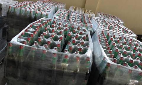 Σύλληψη τριών ατόμων για λαθρεμπόριο ποτών στον Προμαχώνα Σερρών