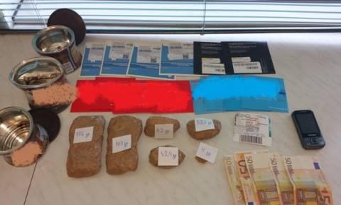 Ηράκλειο: Δύο συλλήψεις για μεταφορά και διακίνηση ηρωίνης