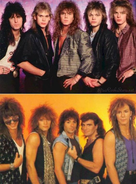 Europe και Bon Jovi