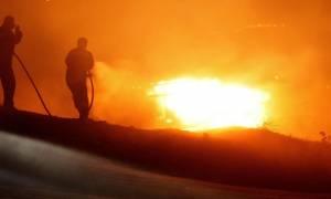 Ρέθυμνο: Πυρκαγιά τα ξημερώματα της Δευτέρας στο Δήμο Αμαρίου