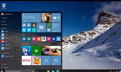 Τεχνολογία: Τουλάχιστον 14 εκατομμύρια συστήματα τρέχουν ήδη στα νέα Windows 10