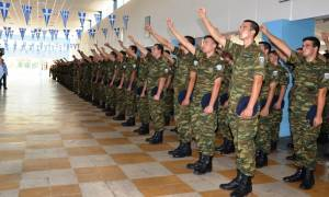 Ορκωμοσία Νεοσύλλεκτων Οπλιτών της 2015 Δ΄ΕΣΣΟ (pics)