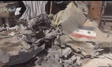 Συρία: Τουλάχιστον 27 άνθρωποι σκοτώθηκαν από συντριβή μαχητικού