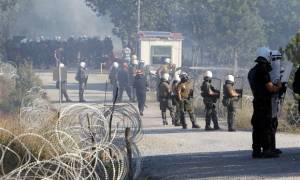 Σκουριές: Ένταση κατά τη διάρκεια συγκέντρωσης - Πέντε συλλήψεις