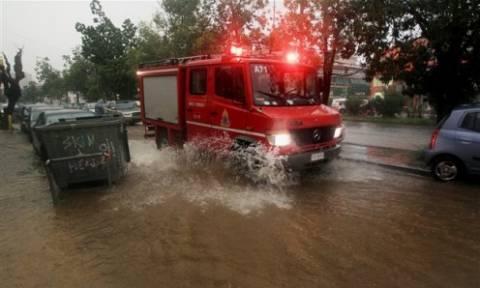 Προβλήματα στη Δυτική Μακεδονία από ισχυρή καταιγίδα