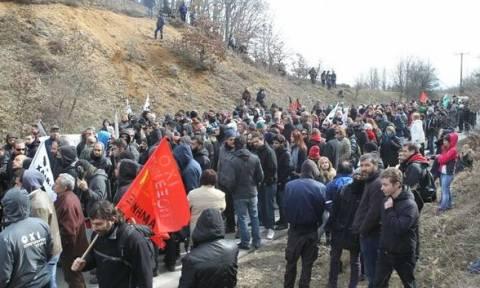 Σκουριές: Ελεύθεροι αφέθηκαν οι πέντε διαδηλωτές που συνελήφθησαν